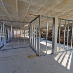 Eco friendly partitions in Lithuania - block of flats 2