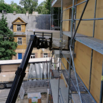 Eco friendly partitions in Lithuania - block of flats 3