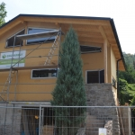 New wooden home of Ekopanely building system in Cernosice nearby Prague 16