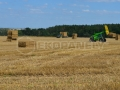Ekopanely harvest 2017 - balers for strawboards production press