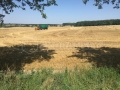 Ekopanely harvest 2017 - balers for strawboards production presses on the field